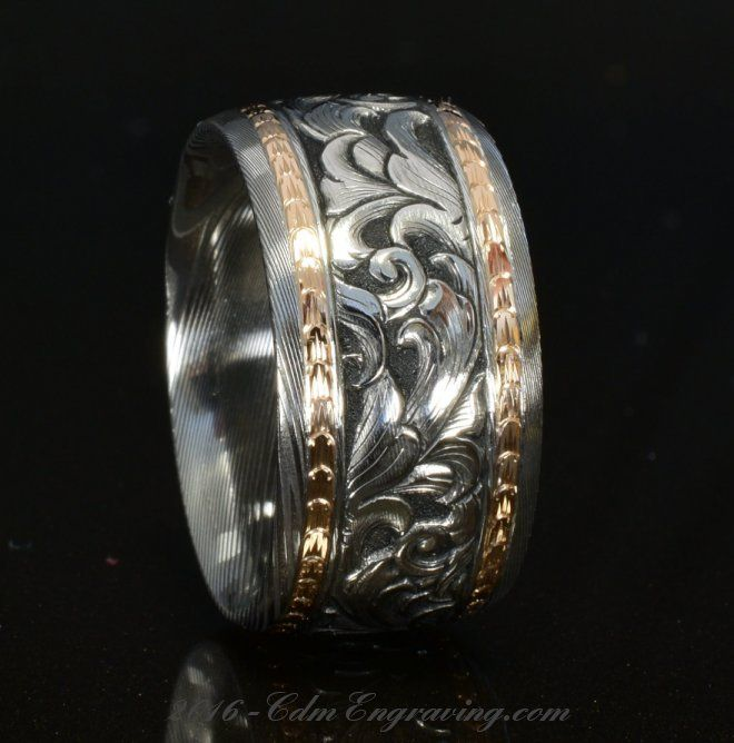 Custom Etched Rings